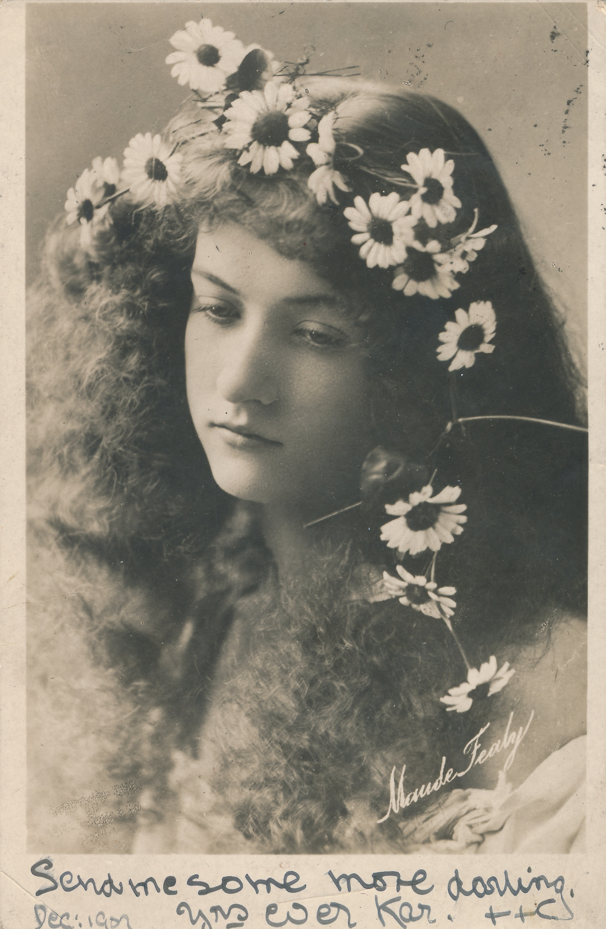 "Maude Fealy as Ophelia in ""Hamlet"""
