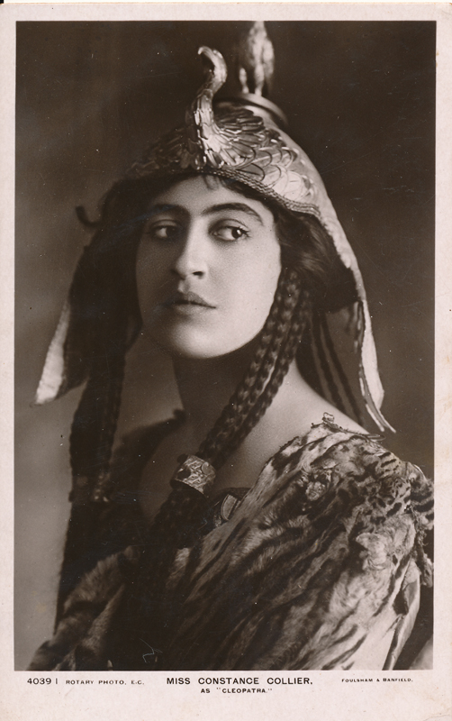 "Constance Collier as Cleopatra in ""Antony and Cleopatra"""