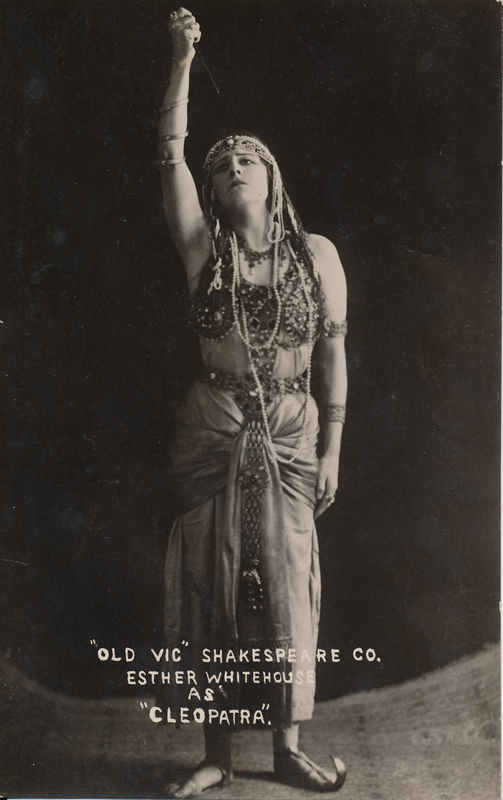 "Esther Whitehouse as Cleopatra in ""Antony and Cleopatra"""