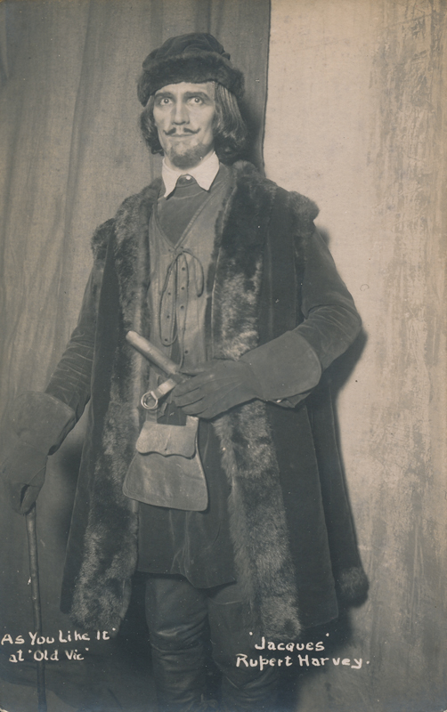 "Rupert Harvey as Jacques in ""As You Like It"""