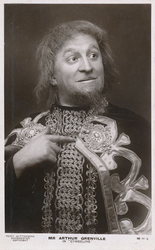 "Arthur Grenville as a character in ""Cymbeline"""