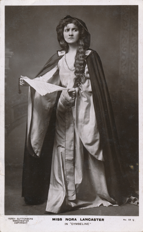 "Nora Lancaster as Imogen in ""Cymbeline"""