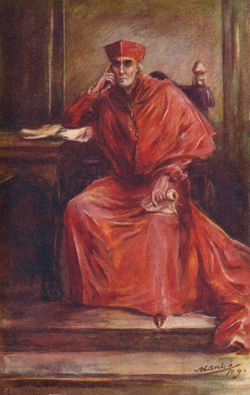 "Henry Irving as Cardinal Wolsey in ""Henry VIII"""