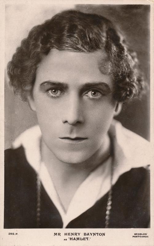 "Henry Baynton as Hamlet in ""Hamlet"""