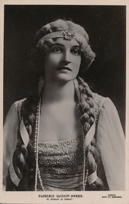 "Florence Glossop-Harris as Ophelia in ""Hamlet"""