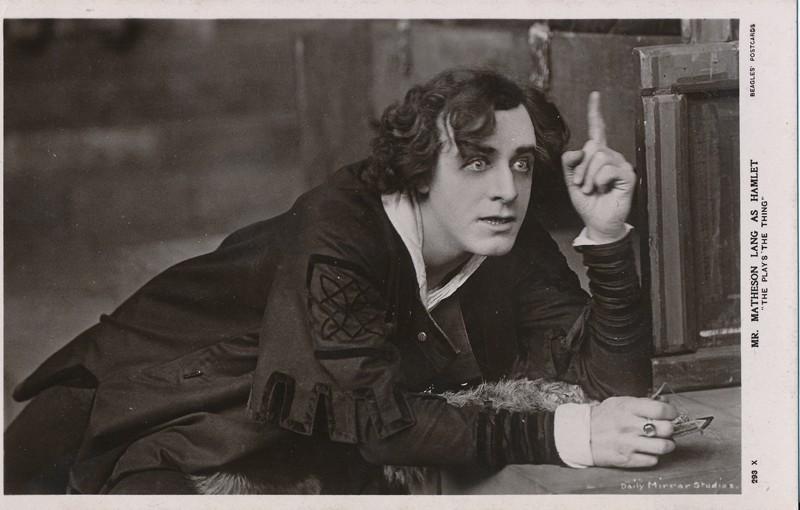 "Matheson Lang as Hamlet in ""Hamlet"""