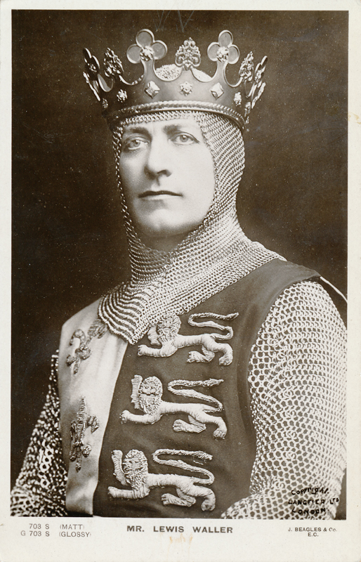 "Lewis Waller as ""Henry V"" in ""Henry the Fifth"""