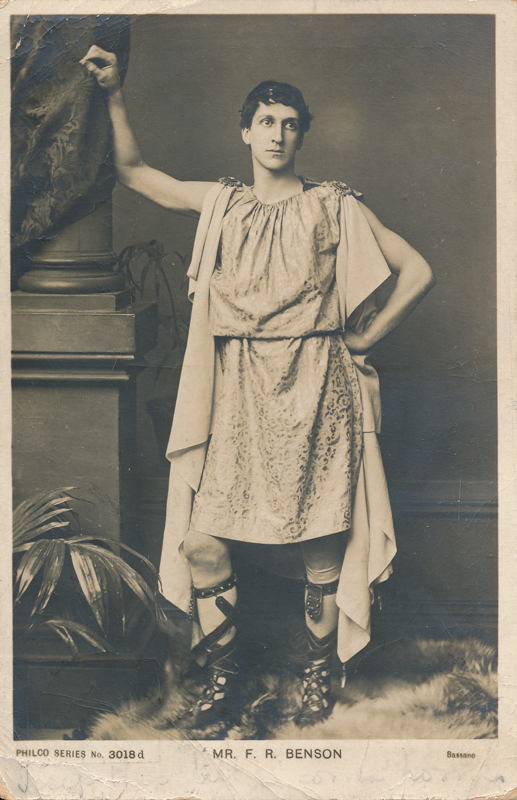 "Mr. F. R. Benson as Brutus in ""Julius Caesar"""