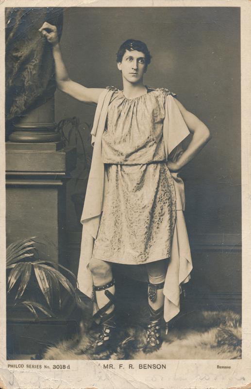 """Mr. F. R. Benson as Brutus in """"Julius Caesar"""""""