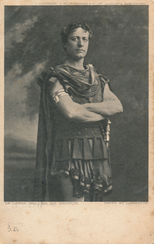 "Lewis Waller as Brutus in ""Julius Caesar"""