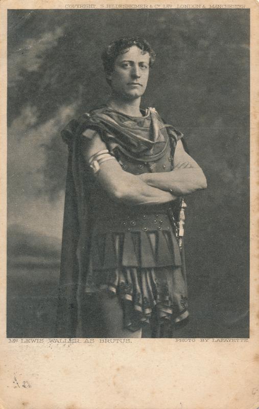 "Lewis Waller as Brutus in ""Julius Caesar"""