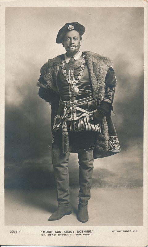 "Sidney Brough as Don Pedro in ""Much Ado About Nothing"""
