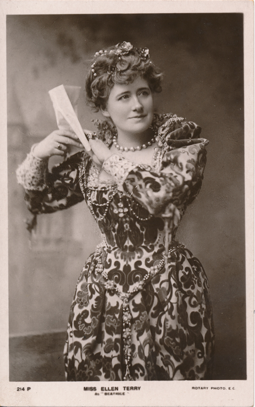"Ellen Terry as Beatrice in ""Much Ado About Nothing"""