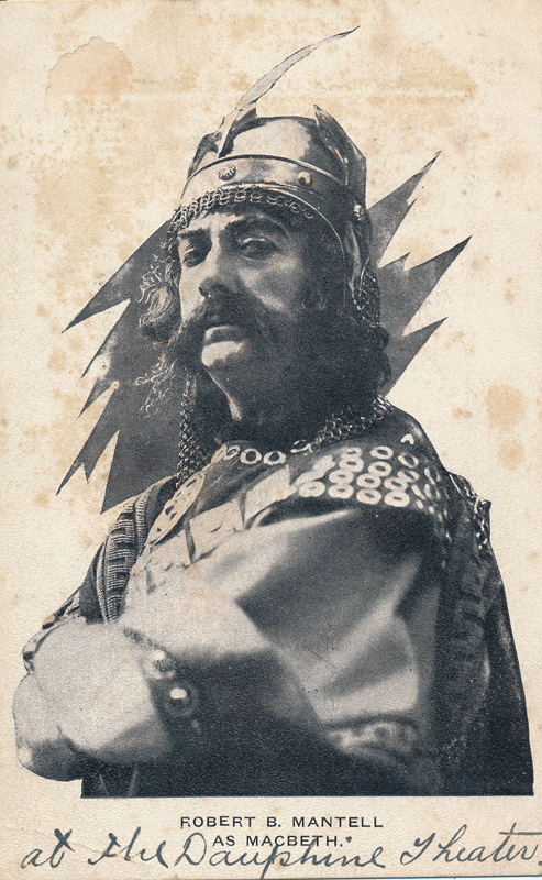 "Robert B. Mantell as Macbeth in ""Macbeth"""