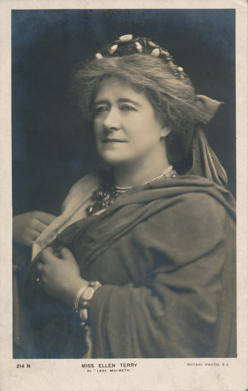 "Ellen Terry as Lady Macbeth in ""Macbeth"""