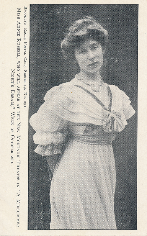 "Annie Russell in ""A Midsummer Night's Dream"""
