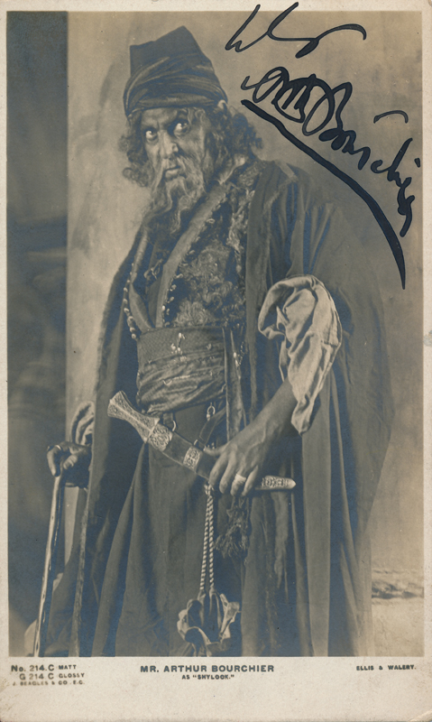 "Arthur Bourchier as Shylock in ""The Merchant of Venice"""