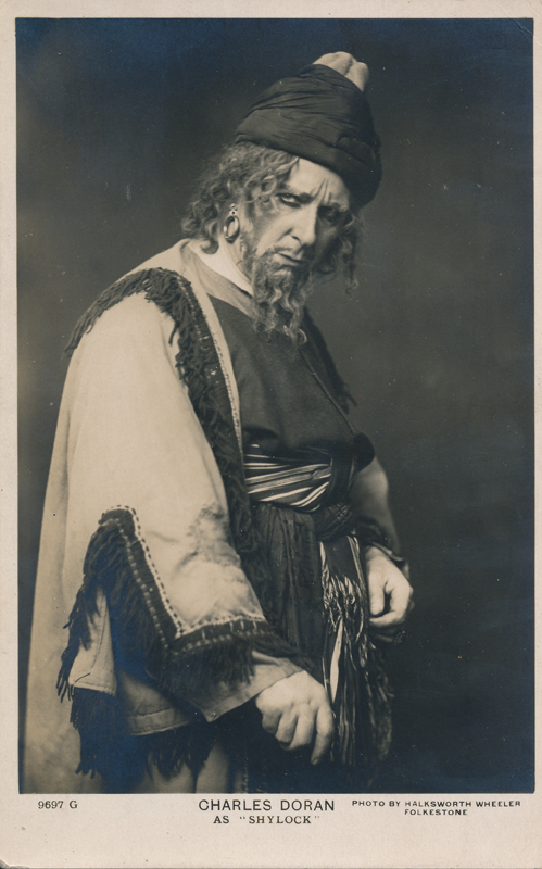 "Charles Doran as Shylock in ""The Merchant of Venice"""