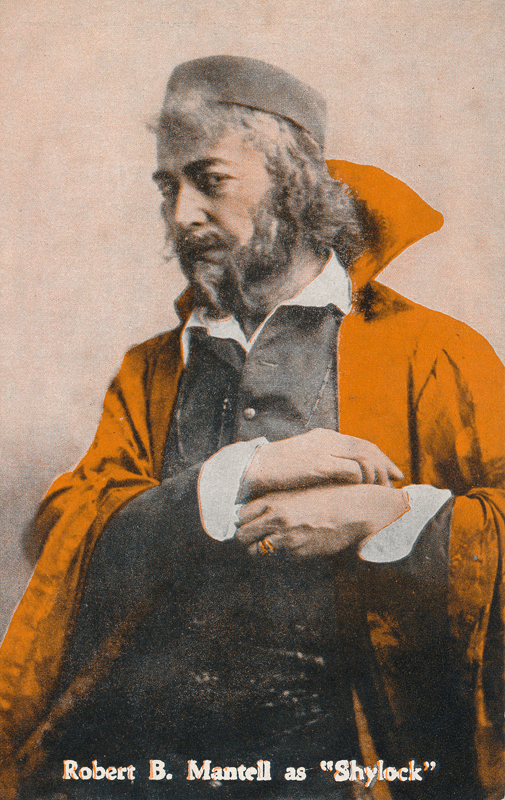 "Robert B. Mantell as Shylock in ""The Merchant of Venice"""