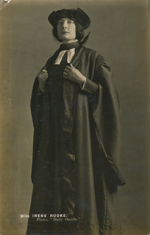 "Irene Rooke as Portia in ""The Merchant of Venice"""