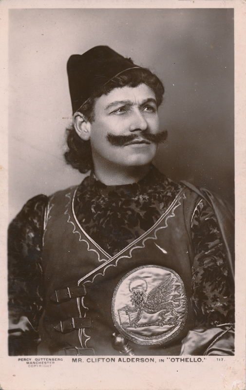 "Clifton Alderson as Iago in ""Othello"""