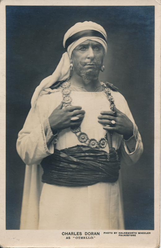 "Charles Doran as Othello in ""Othello"""