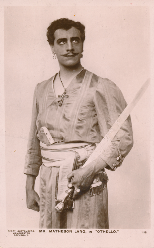 "Matheson Lang as Othello in ""Othello"""