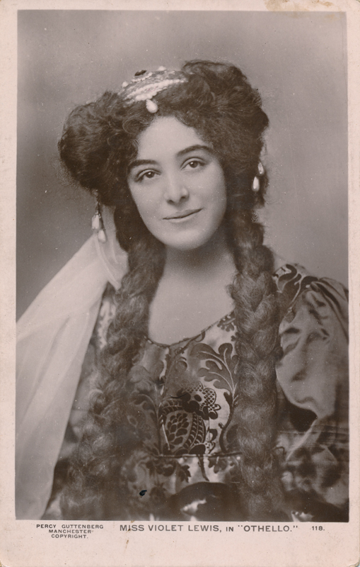 "Violet Lewis as Dedemona in ""Othello"""