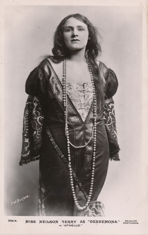 "Phyllis Neilson-Terry as Desdemona in ""Othello"""