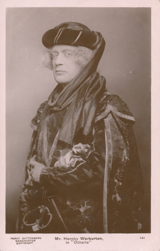 "Hornby Warburton as Brabantio in ""Othello"""