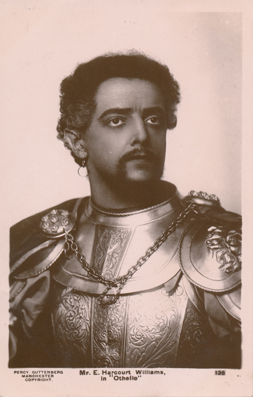 "Ernest Harcourt Williams as Othello in ""Othello"""