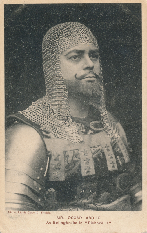 "Oscar Asche as Bolingbroke in ""Richard II"""