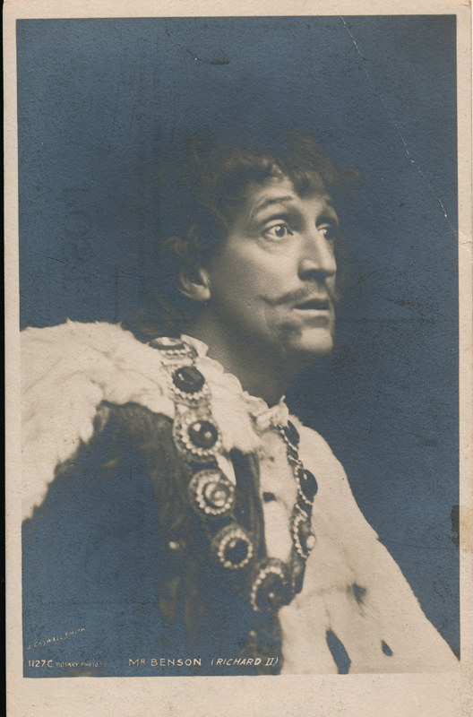 "Frank Benson as King Richard II in ""Richard II"""