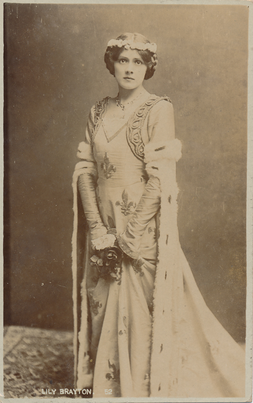 "Lily Brayton as Queen Isabella in ""Richard II"""