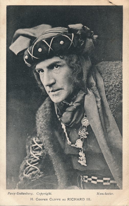 "H. Cooper Cliffe as Richard III in ""Richard III"""