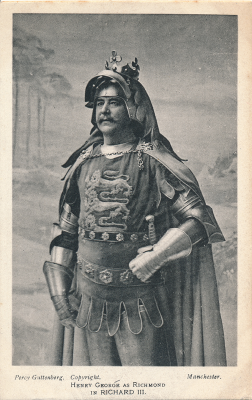 "Henry George as Richmond in ""Richard III"""