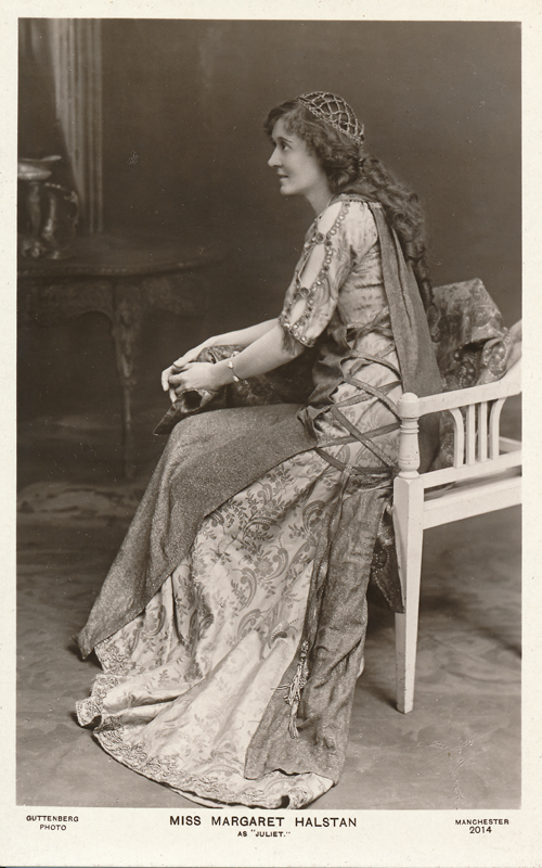 "Margaret Halstan as Juliet in ""Romeo and Juliet"""