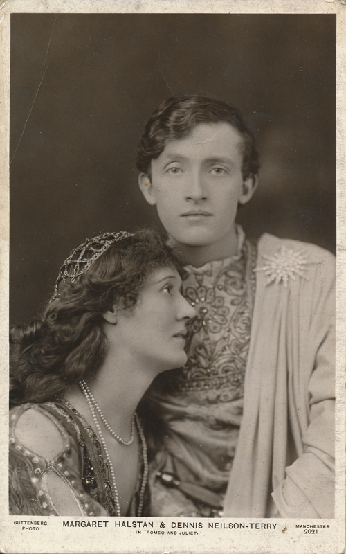 "Dennis Neilson-Terry as Romeo and Margaret Halstan as Juliet in ""Romeo and Juliet"""
