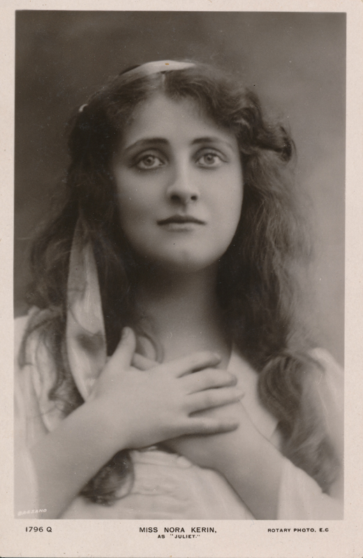 "Nora Kerin as Juliet in ""Romeo and Juliet"""