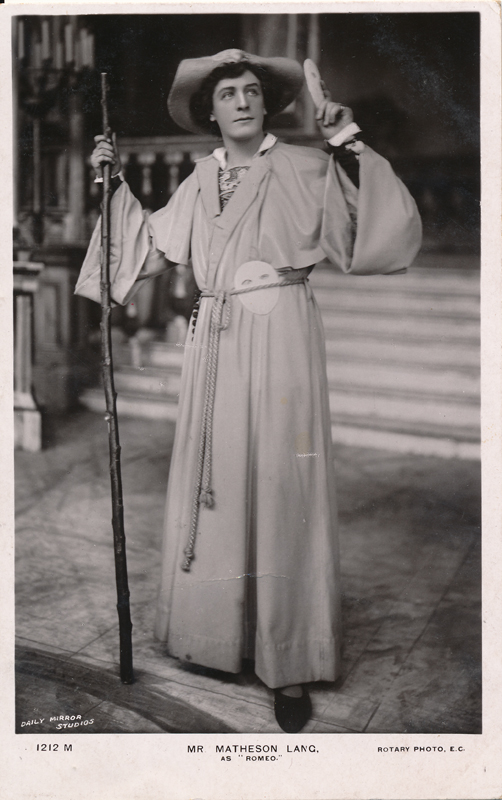 "Matheson Lang as Romeo in ""Romeo and Juliet"""