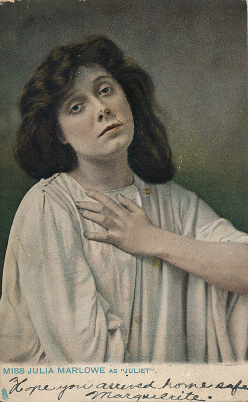 "Julia Marlowe as Juliet in ""Romeo and Juliet"""