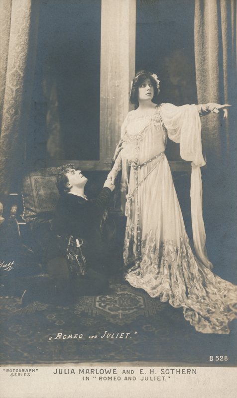 "Julia Marlowe as Juliet and E. H. Sothern as Romeo in ""Romeo and Juliet"""
