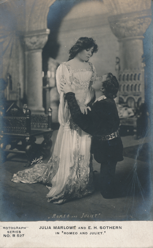 """Julia Marlowe as Juliet and E. H. Sothern as Romeo in """"Romeo and Juliet"""" (c)"""