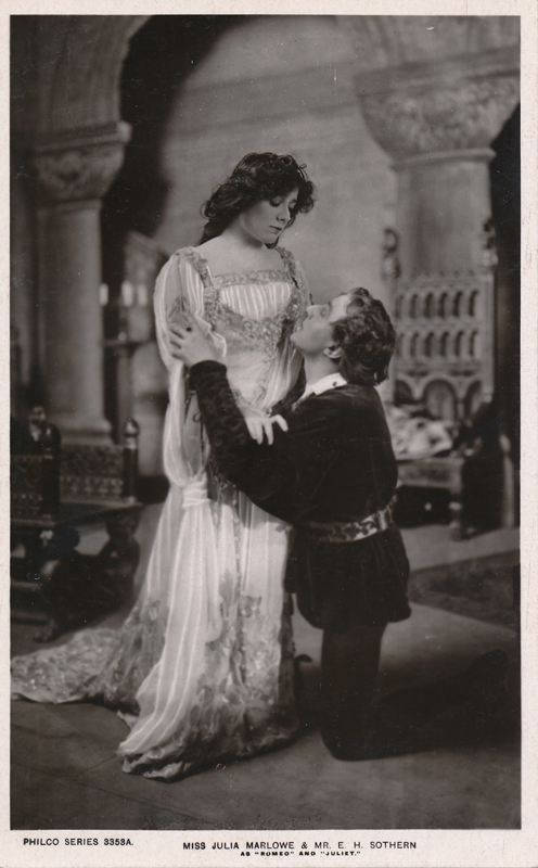 "Julia Marlowe as Juliet and E. H. Sothern as Romeo in ""Romeo and Juliet"" (a)"