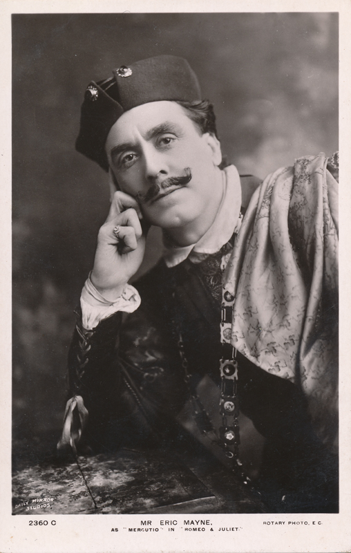 "Eric Mayne as Mercutio in ""Romeo and Juliet"""