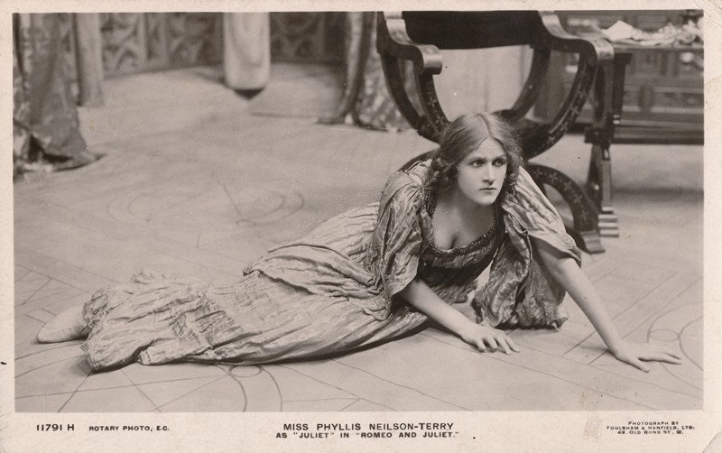 "Phyllis Neilson-Terry as Juliet in ""Romeo and Juliet"""