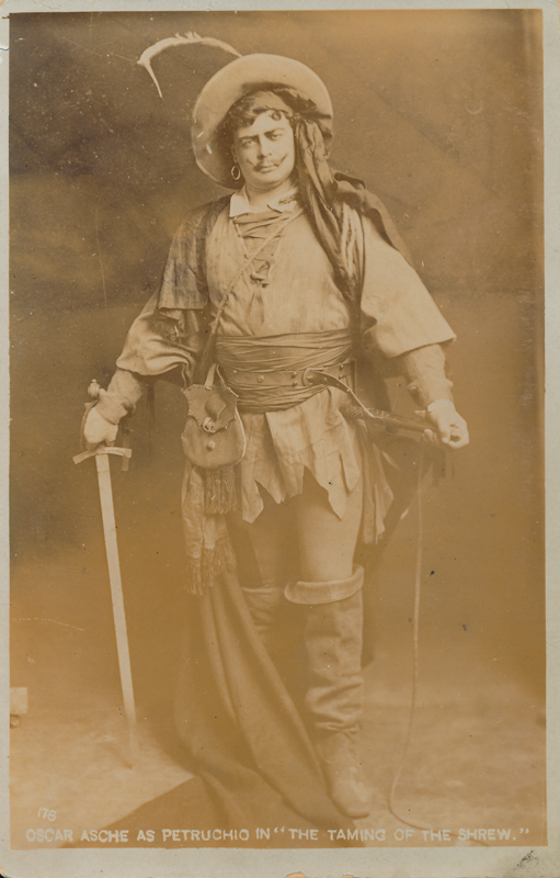 "Oscar Asche as Petruchio in ""the Taming of the Shrew"""