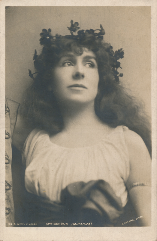 "Constance Benson as Miranda in ""The Tempest"""