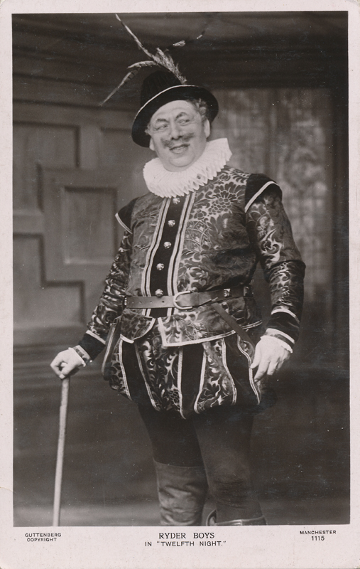 "Ryder Boys as Sir Toby Belch in ""Twelfth Night"""