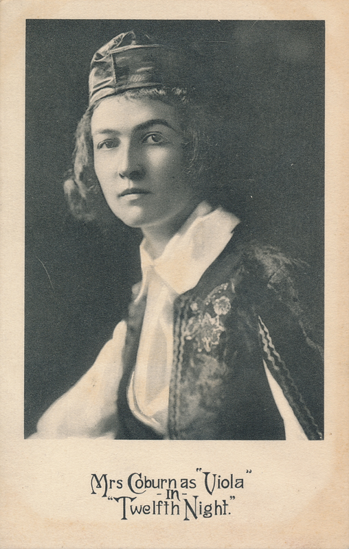 "Ivah Wills Colburn as Viola in ""Twelfth Night"""
